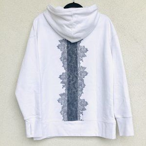 Limited Edition! ATHLETA Rose Lace Tunic Hoodie